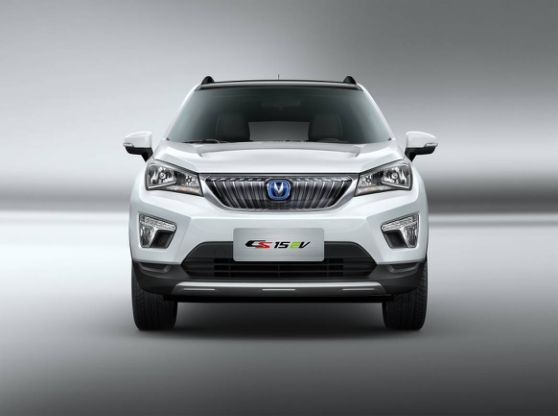 首款纯电动SUV,CS15EV强劲而来-长安CS15EV暨新逸动EV300深圳高清图片