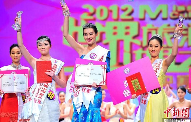 惊艳世界旅游文化小姐中国总决赛三甲