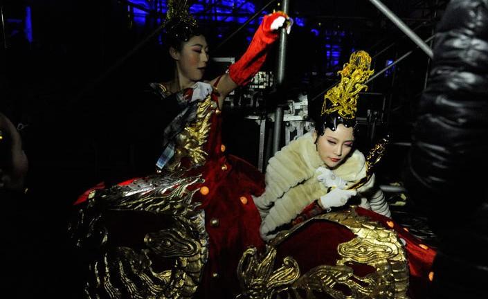 第三届北京国际电影节 天坛公园祈年殿举行开幕式