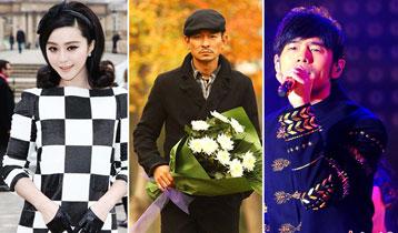 2013年福布斯中国名人榜 范冰冰登榜首