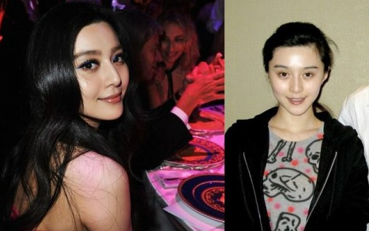 范冰冰佟丽娅王菲蔡依林董洁 女星浓妆下的真面容