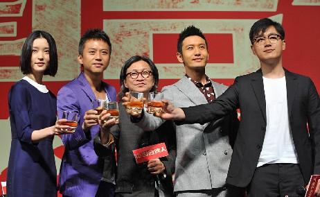 《中国合伙人》全球首映 刘亦菲李小璐甘薇钟丽缇亮相
