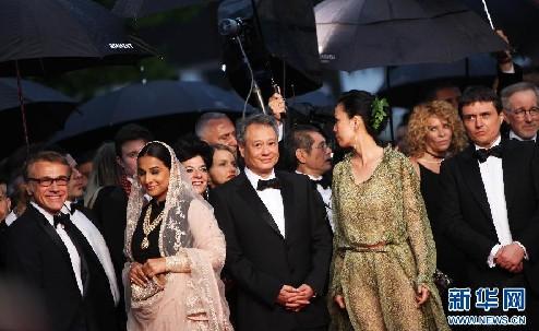 姜武范冰冰王宝强 戛纳电影节开幕红毯上的中国面孔
