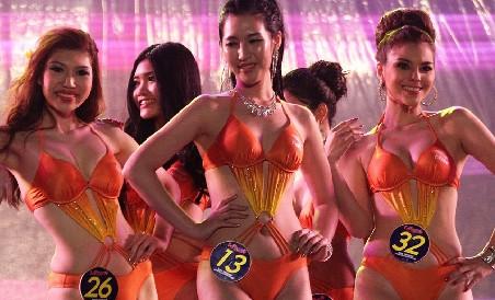 国际旅游小姐亚洲总决赛三甲出炉