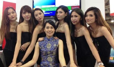 亚洲博彩国际博览会美女如云