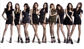 韩国当红女子团体美腿秀