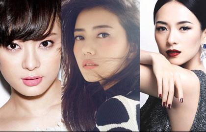中国最美女星Top15 孙俪粉妆居榜首子怡垫底(组图)