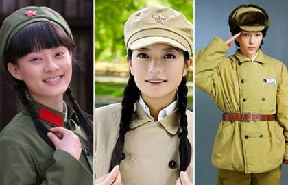 孙俪林青霞李冰冰 细数荧屏上华人女星的军装照