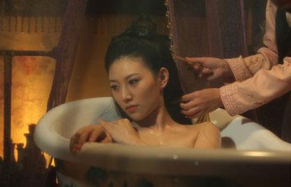 《多情江山》曝美人出浴照 与高云翔缠绵爱恋