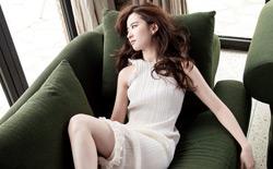 刘亦菲ELLE封面大片 浪漫白纱仙气逼人