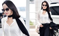 当刘涛、宋茜、Angelababy穿起白衬衫打领带…