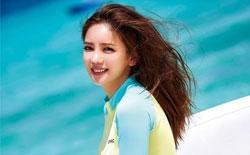 组图:韩星李泰林穿泳装横卧海滩 小腹平坦诱人