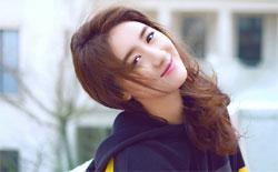 袁冰妍初春甜美照曝光 少女感十足