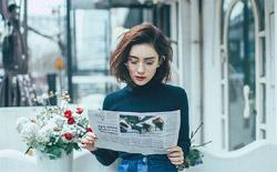 孟子义曝时尚街拍 纽约式梦幻与中国范清甜碰撞