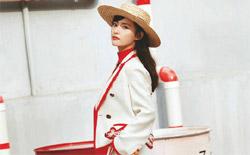 张嘉倪登时尚杂志 造型百变时髦有范儿