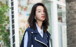 陈都灵最新街拍曝光 明朗少女青春洋溢