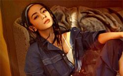 Angelababy登杂志封面 满头小辫嘻哈酷女孩