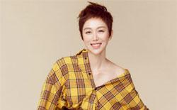 姜妍最新时尚大片 清爽短发吸睛值Max