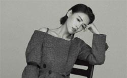 马思纯登上男刊封面 诠释黑白质感魅力